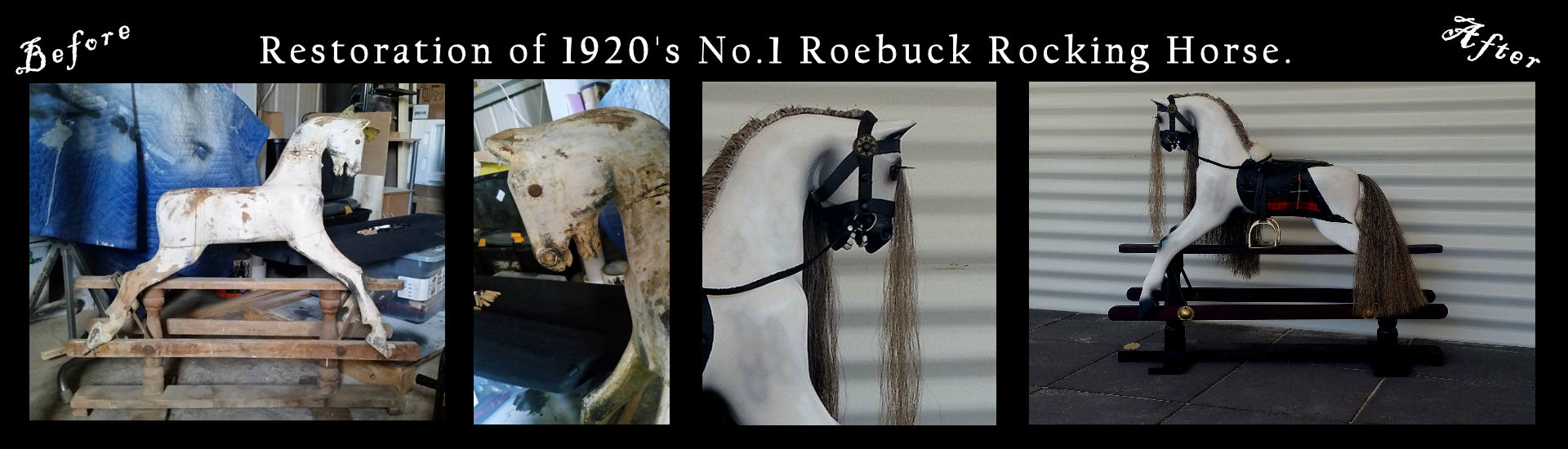 Roebuck Rocking Horse Restoration